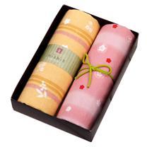内野 UCHINO 和风毛巾两件套 Y10321 (礼盒) (仅限上海)