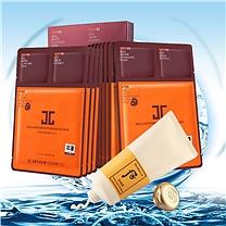 韩国进口 面部护理套装  (水光面膜和洁面膏)