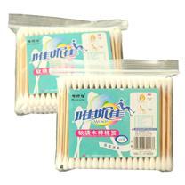 国产 软袋木棒棉签  100支/包 (新老包装交替以实物为准)