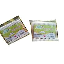 国产 双头塑料杆棉签 90根/包  (新老包装交替以实物为准)