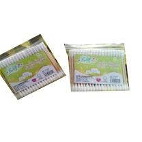 国产 双头塑料杆棉签 90-100根/包  (新老包装交替以实物为准)