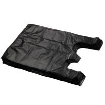 国产 背心垃圾袋 36*56cm (黑色) (新老包装交替以实物为准)
