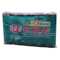 可爱可 家居型垃圾袋5卷特惠装 45cm*55cm (黑色) 30只/卷 5卷/组 20组/箱