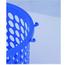 得力 deli 塑料圆形纸篓/垃圾桶 9556 φ24cm 9L (蓝色)