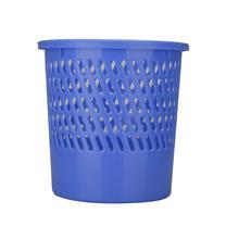得力 deli 塑料圆形纸篓/垃圾桶 9553 直径26cm 40个/箱