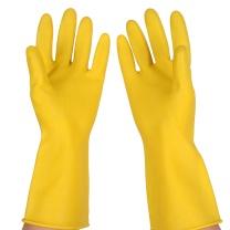南洋 牛筋乳胶手套 黄色 加厚型 中号  200双/箱