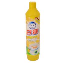 白猫 WhiteCat 去油高效洗洁精 500g/瓶 30瓶/箱