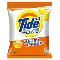 汰渍 Tide 净白去渍洗衣粉 260g/袋  20袋/箱