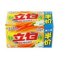 立白 新椰油精华洗衣皂 220g/块 2块/组 18组/箱 (清雅茉莉)