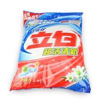 立白 超洁清新无磷洗衣粉 4kg/袋 2袋/箱