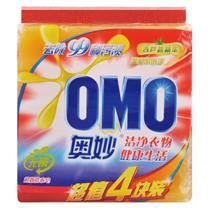 奥妙 OMO 洗衣皂 118g/块 4块/组 20组/箱 (99超效)