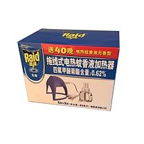 雷达 Raid 电热蚊香液+加热器 24套/箱 (拖线 40晚)