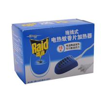 雷达 Raid 电热蚊香片加热器 24盒/箱 (拖线)