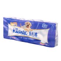 金佰利 Kimberly-Clark 舒洁卷筒卫生纸三层 2216 210段/卷10卷/提 10提/箱