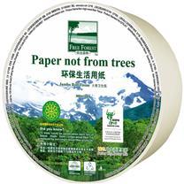 洁云 Hygienix 自由森林大卷卫生纸双层 116906 300m (自然本色) 12卷/箱