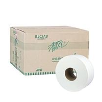 清风 Breeze 大卷纸双层 BJ02AB 240m 12卷/箱