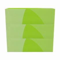 欧迪办公 Office Depot 盒装面纸 FTD130 双层 130抽/盒  3盒/提 16提/箱