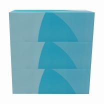 欧迪办公 Office Depot 盒装面纸 FTD150 双层 150抽/盒  3盒/提 12提/箱