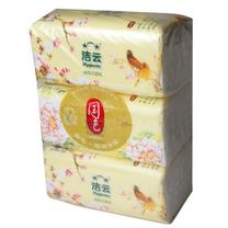 洁云 Hygienix 国色袋装面纸 162218 200抽/包 3包/提 16提/箱