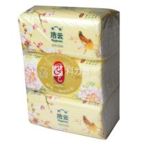 洁云 Hygienix 国色袋装面纸 162218 双层 200抽/包 3包/提 16提/箱 (仅限上海北京可售)