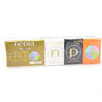 妮飘 nepia 羢品手帕纸 HKUM10 10张/包 10包/袋 48袋/箱