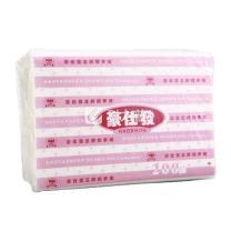 豪仕发 擦手纸单层三折 HF2038 200抽/包 20包/箱