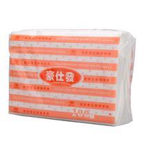 豪仕发 擦手纸单层三折 HF2040A 200抽/包 20包/箱