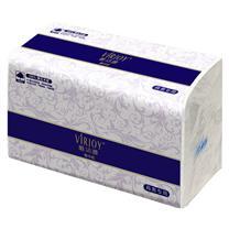 唯洁雅 VIRJOY 全压花擦手纸单层双折 E910A 240张/包 20包/箱