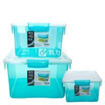 茶花 CHAHUA 精致收纳箱 2892 15.5L 41.2*30*19cm  (12个/箱)