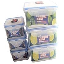 乐扣乐扣 LOCK&LOCK 收纳盒 HPL82222 4L塑料按扣