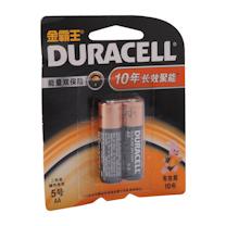 金霸王 DURACELL 碱性电池 5号 2节/卡