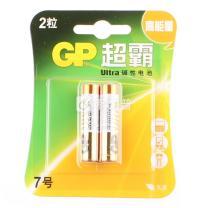 超霸 GP 碱性电池 7号  2节/卡