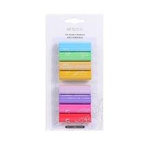 晨光 M&G 彩虹5号碱性电池 ARC92550 (彩色) 8粒吸卡