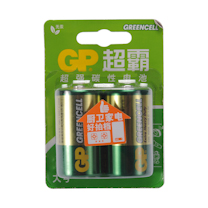 超霸 GP 碳性电池 1号  2节/卡