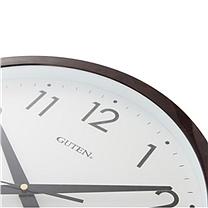 金钟宝 电子挂钟 DLW1043-2 (咖啡色) (仅限上海)