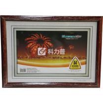 金隆兴 Glosen 高级镜框 D3-A4 210*297mm (红色)