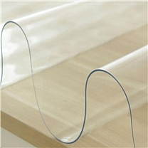 国产 水晶板 CLP-39819  软玻璃加厚 PVC桌布防水防烫 透明款(厚度2.0mm) 80cm*140cm