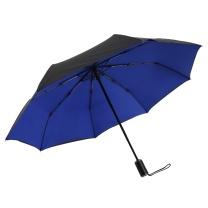 美度 双层商务全自动三折晴雨伞 M3321 8骨 58.5*8K (颜色随机)