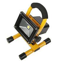 沃莱 WOLIKE LED充电投光灯 车载应急灯 手提探照灯户外帐篷灯正白光 30W (黄色) (联通专用)