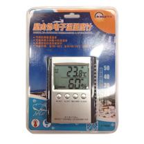 明高 室内外电子温湿度计 ETH529 (银色)