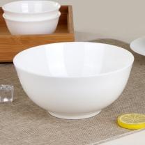 敏杨 澳碗(汤碗) 骨质白瓷 8英寸 (骨瓷) 2个/套 口径:21cm*高9.6cm