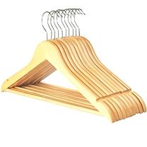 国产 木质衣架  10个/组 (新老包装交替以实物为准)