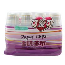 可爱可 带花纹纸杯 9盎司 255ml 100个/袋