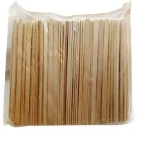 国产 一次性木制搅拌棒 140mm*6mm*1.2mm  500根/包10包/箱