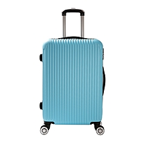 优美特拉杆箱 万向轮旅行箱 24寸行李箱 伸缩拉杆 手拉箱