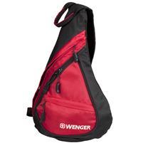 威戈 WENGER 涤纶时尚胸包 S854190043 (红黑色)