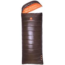 天石北极狼0度上羽绒下七孔棉组合信封式睡袋 可拼接 220*80cm
