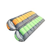 亚华/花蝴蝶户外YS-0711-1信封带帽可拼接睡袋 (190+30)X75CM