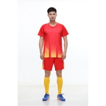 励扬 成人足球服 L号套装 RY-583253 L 100%聚酯 (中国红/荧光黄/宝石蓝/荧光橙)