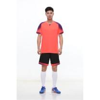 励扬 成人足球服 XL号套装 RY-583251 XL 100%聚酯纤维 (雪花白/中国红/明亮黄/宝石蓝/荧光橙)